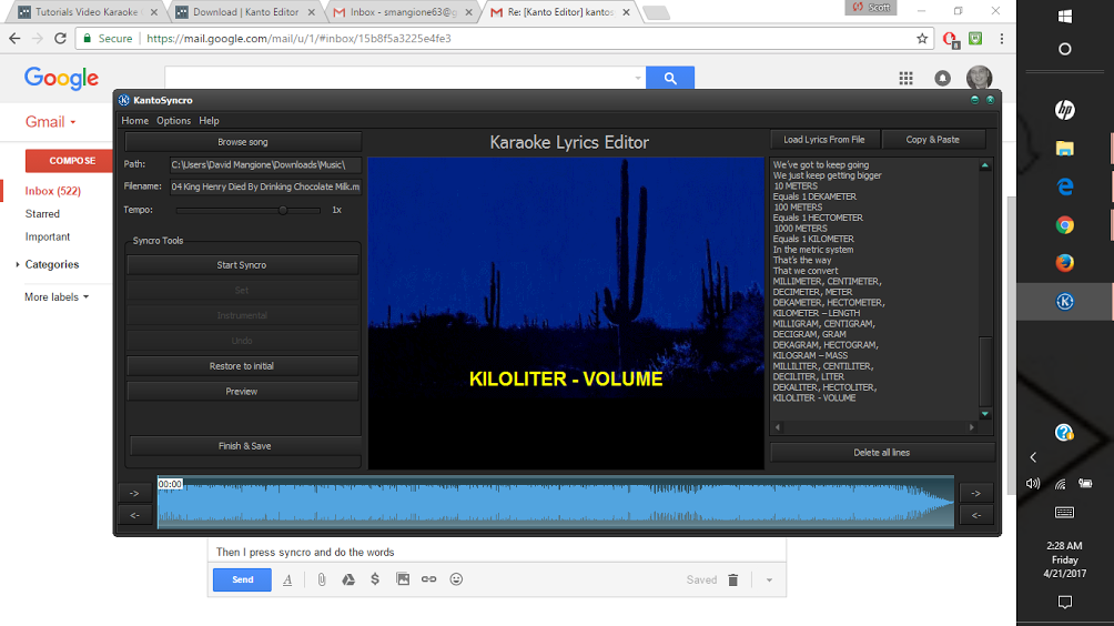 How to Make a Lyric Video for YouTube   Kanto Editor