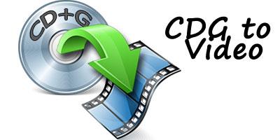How to convert CDG to Video Karaoke