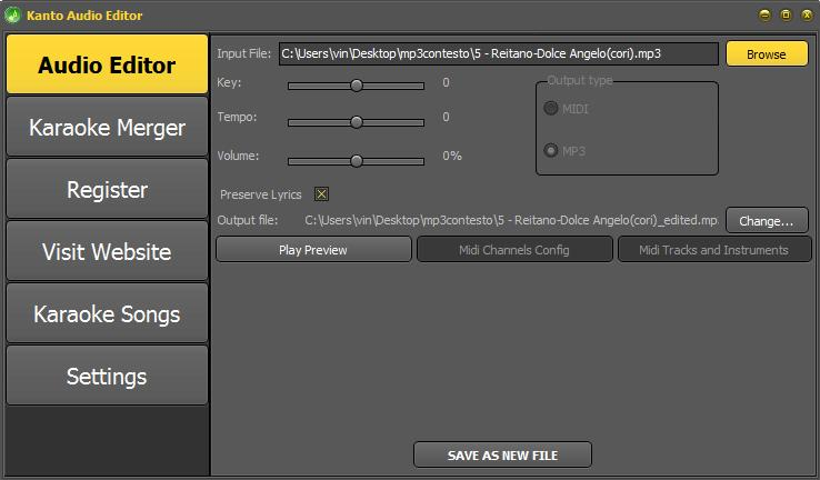 change-key-volume-tempo-mp3